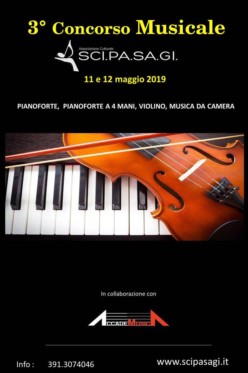 terzo concorso musicale scipasagi in collaborazione con accademusica