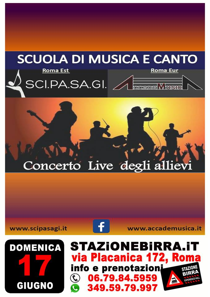 Concerto Live degli allievi a Stazione Birra