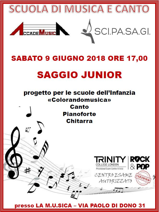 Saggio Junior 2018