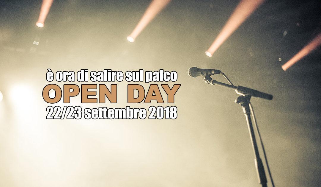 Open Day 22 23 settembre 2018