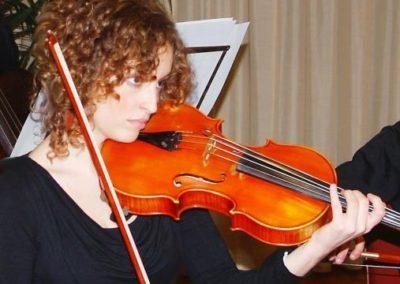 Adriana Marinucci insegnante di violino